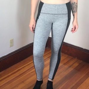 Light/Dark Grey Champion Leggings